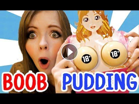 Japanese boob pudding