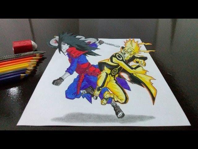 drawing sasuke and naruto 3d resultado sorteio