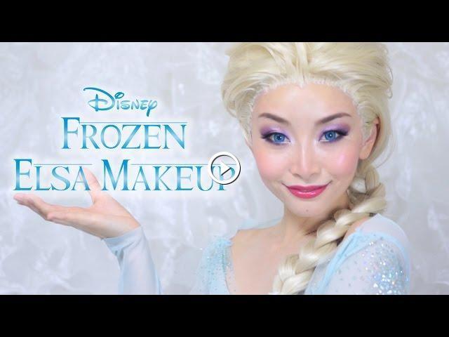 how to do elsa makeup