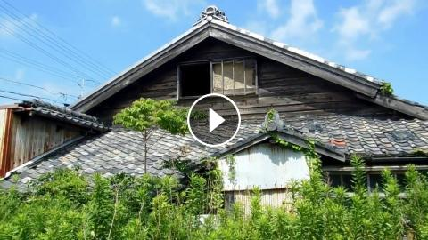 Abandoned & Overgrown House in Japan