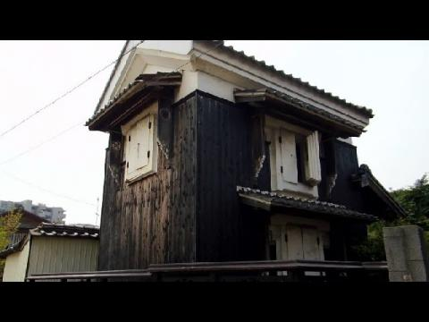 Beautiful Old Japanese Storehouse!