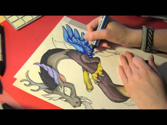 Speed drawing MLP - Discord