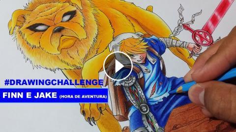 Drawing challenge finn e jake hora de aventura adventure time thecheapjerseys Images